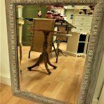 vintage mirror, painted, Annie Sloan