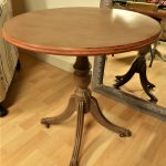 painted wine table Annie Sloan