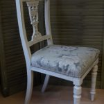 Edwardian painted chair