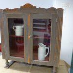 Vintage display cupboard