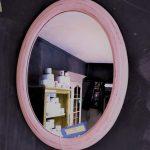 painted mirror pink