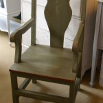 Chateau Grey Chair Painted Furniture Shabby Chic Bury St Edmunds Suffolk Ipswich Cambridge Diss