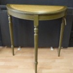 Olive Half Moon Table Painted Furniture Bury St Edmunds Suffolk Ipswich Cambridge Diss