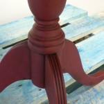 Pedestal Wine Table Painted Furniture Shabby Chic Bury St Edmunds Suffolk Ipswich Cambridge Diss