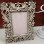 painted photo frame - £12