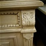 Edge of Marble Top bedside