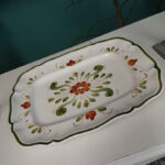 vintage French serving platter - £25