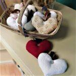 Hand-sewn lavender hearts - £6 each