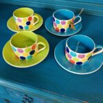 4 cups & saucers (Whittards) - £32